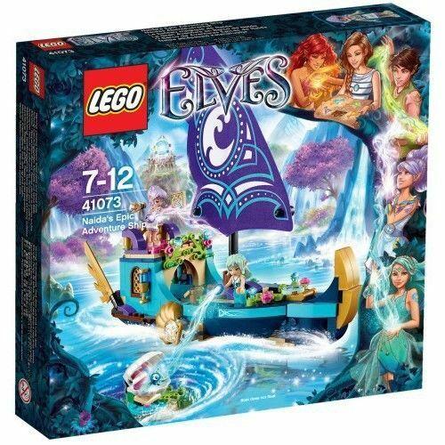 LEGO Elfi 41073 Naida's Epica  Avventura Nave  NUOVO  non aperti  vendite calde