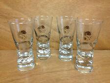 Russian Standard Genuine Vodka Shot Glass Set - New Set of 4 glasses - Free Ship
