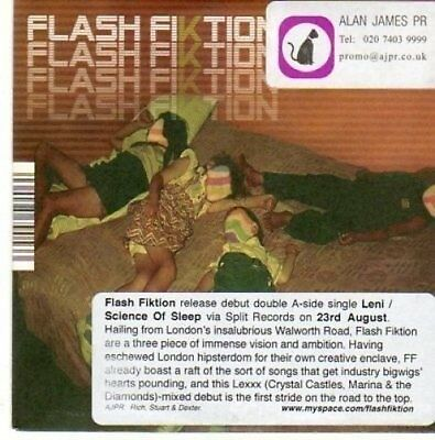 (BI728) Flash Fiktion, Science of Sleep - DJ CD