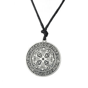Details about 24 Runic Irish Knot Thor Amulet Celtic Symbol Maltese Cross  Necklace for Unisex