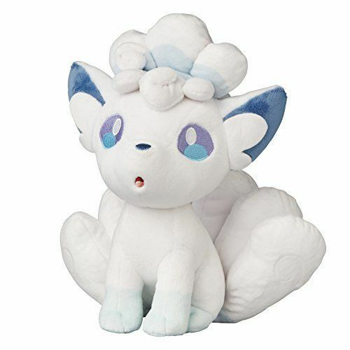 Pokey Center Original Plush Alola Vulpix docka Sun Moon Alolan japan OFFICIELL