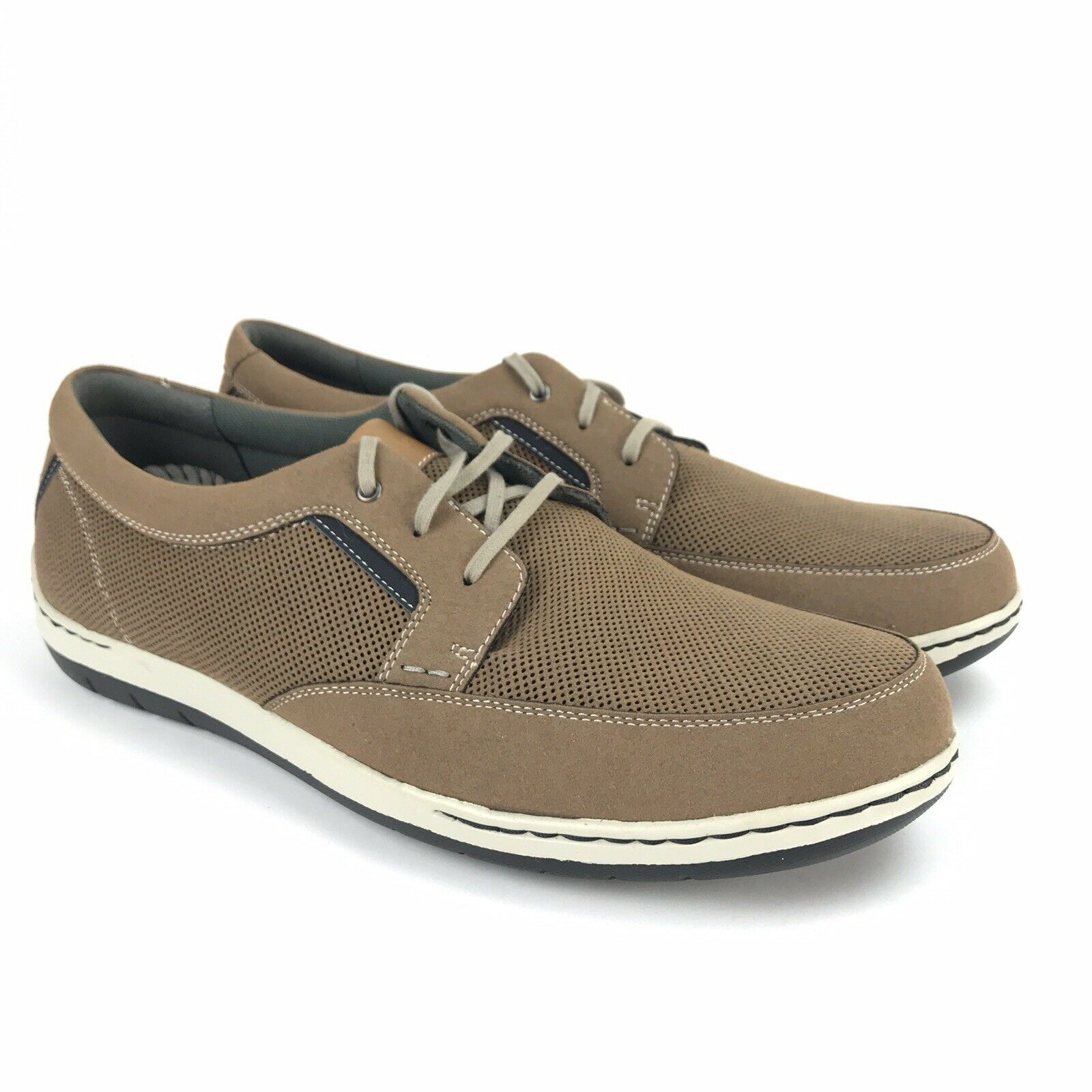 9f731fd7954 Dunham Men s Fitswift Tan Lace Up Casual Casual Casual Sneakers Size 8.5 D  a54731