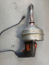 Ridgid Kollmann K 36 Skil 598 Xtra Tool 0 500rpm 115vac Pipe Drain Cleaner Drill