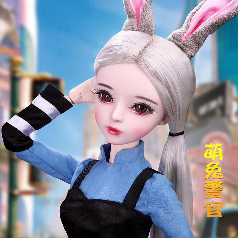 24  nuevo 1 3 hecho a mano PVC muñecas articulación de muñeca de BJD MSD realista Bebé Regalo Nuevo Judy