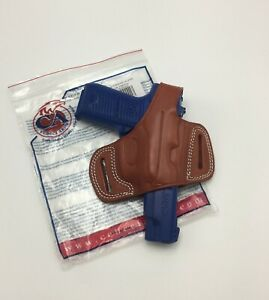 Leather Kydex Paddle Gun Holster LH RH For Ruger P85 P89 P90 P91