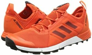 NEW-ADIDAS-TERREX-Agravic-Speed-Mens-Running-Orange-Sneakers-Shoes-14-M