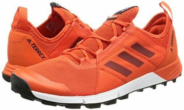 NEW - ADIDAS TERREX Agravic Speed Mens Running Orange Sneakers Shoes 14 M