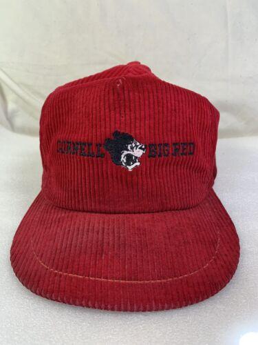 Vintage Cornell University Big Red Corduroy Snapba