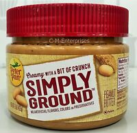 Peter Pan Simply Ground Creamy With A Bit Of Crunch Peanut Butter 15 Oz