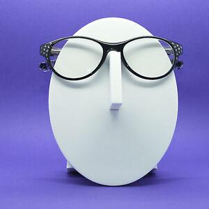 4c980e8e1b6a Bling Reading Glasses Rhinestone Chic Oval Cat Eye Midnight Black ...