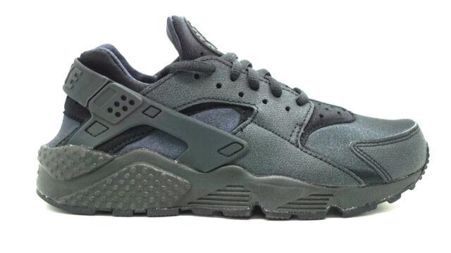 Nike Womens Air Huarache Run 634835-009 Black DS Size 6 for sale ... cd4279040e
