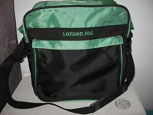 Retro London Fog Luggage Carry On Bag Overnight Messenger Travel Tote Roomy Ebay