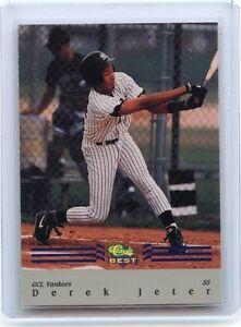 1992 Classic Best Bc22 Derek Jeter Minor League Rookie