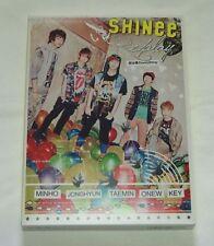 SHINee Replay Kimihabokuno everything PREMIUM CD & DVD JAPAN Limited Edition