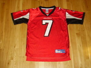 Red Reebok NFL Women/'s Football Atlanta Falcons Michael Vick #7 Replica Jersey