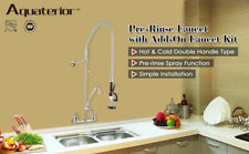 Commercial Pre Rinse Faucet With 12 Add On Wall Mount Faucet Mixer Tap Dishwasher