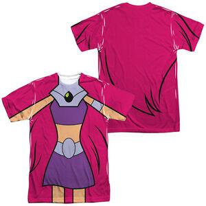 Teen Titans Go ROBIN UNIFORM 1-Sided Sublimated Big Print Poly T-Shirt