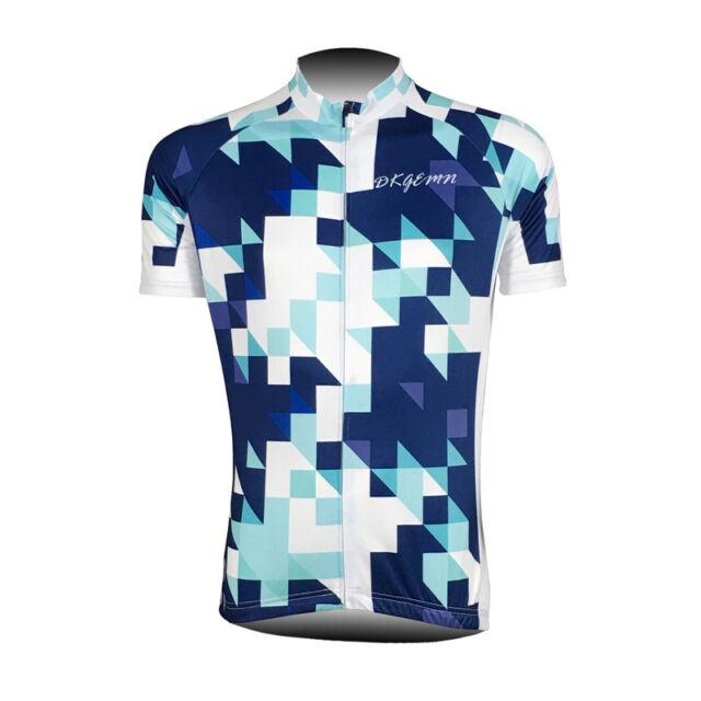 New Mens Team Cycling Jersey Bicycle Riding Race Shirt Maillots Pockets Tops Hot