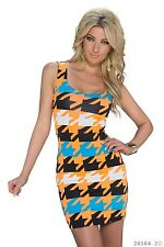 *♥*Sexy Stretch-Kleid Clubwear Rückenfrei Abend-Kleid Größe 36/38 Party