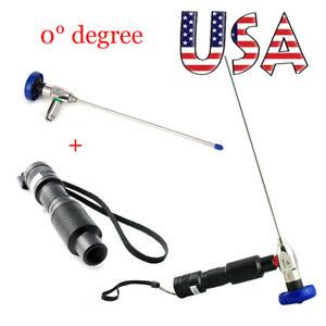 US-LED-Cold-Light-Source-30-4mm-x175mm-Autoclavable-Arthroscope-Sinuscope-FDA