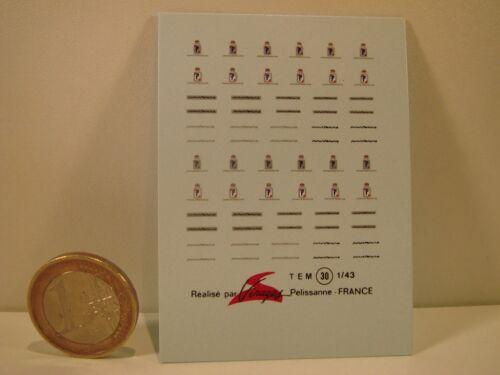 DECALS 1//43 PININFARINA VIRAGES T30