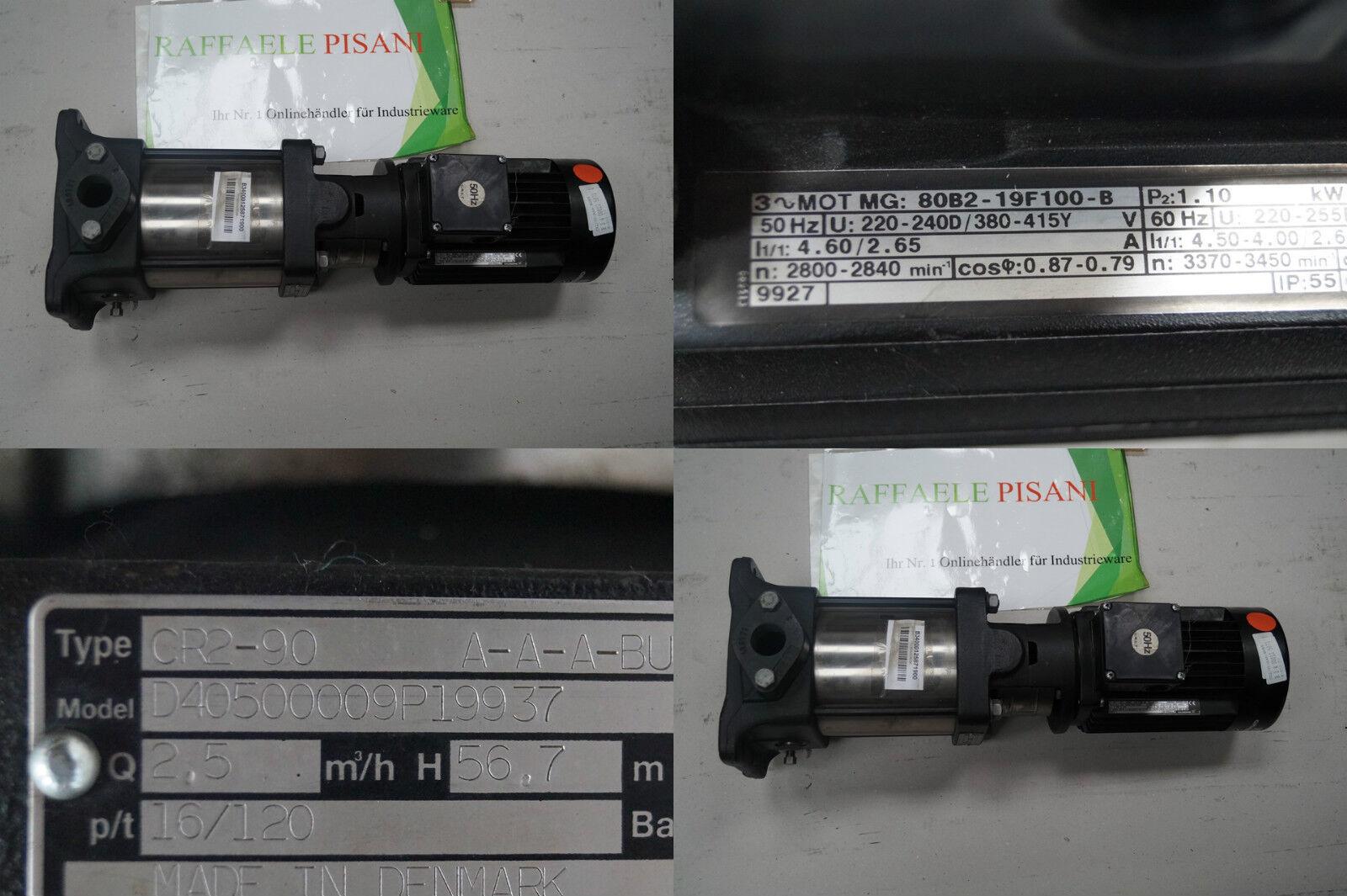 GRUNDFASS CR2-90 A-A-ABUBE UNBENUTZT [111730515191] - $43.99 ...