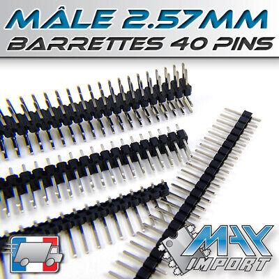 Male Secable Barrettes connexion 40 pins Lots multiples prix dégressif