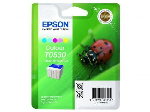 GENUINE AUTHENTIC EPSON T0530 S020110/S020193 COLOUR INK CARTRIDGE C13T05304010