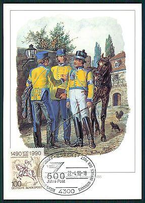 Briefmarken Temperamentvoll Brd Mk 1990 500 Jahre Post DÜrer Postreiter Essen Maximum Card Mc Cm Bs28 Einfach Und Leicht Zu Handhaben