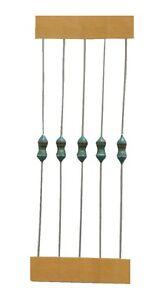 Drosselspule Drossel Induktivität Axial 120 µH THT 5 Stück (0020)