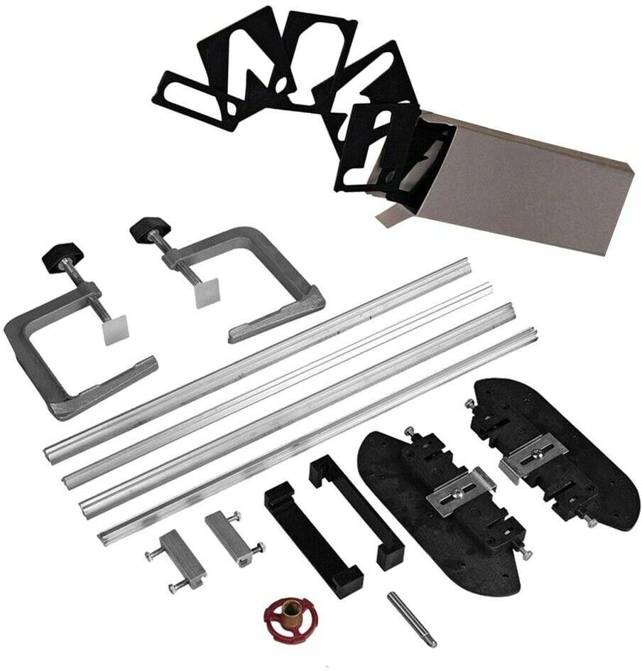 Milescraft Sign Making Tool Maker Complete Router Jig Template Kit Guide Routing