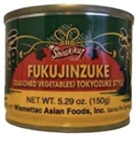 Shirakiku-fukujinzuke-stagionati-ortaggi-tokyozuke-stile-5-29-OZ-lotto-di-4-lattine