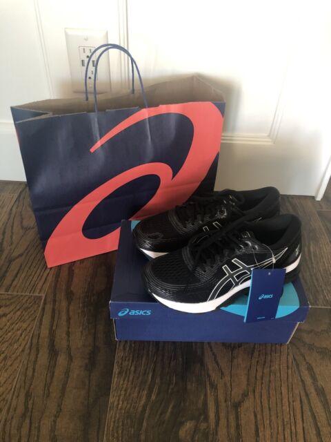 ASICS Women's Gel-Nimbus 21 Running Shoes, Black/Dark Grey US 8 1/2. New In Box