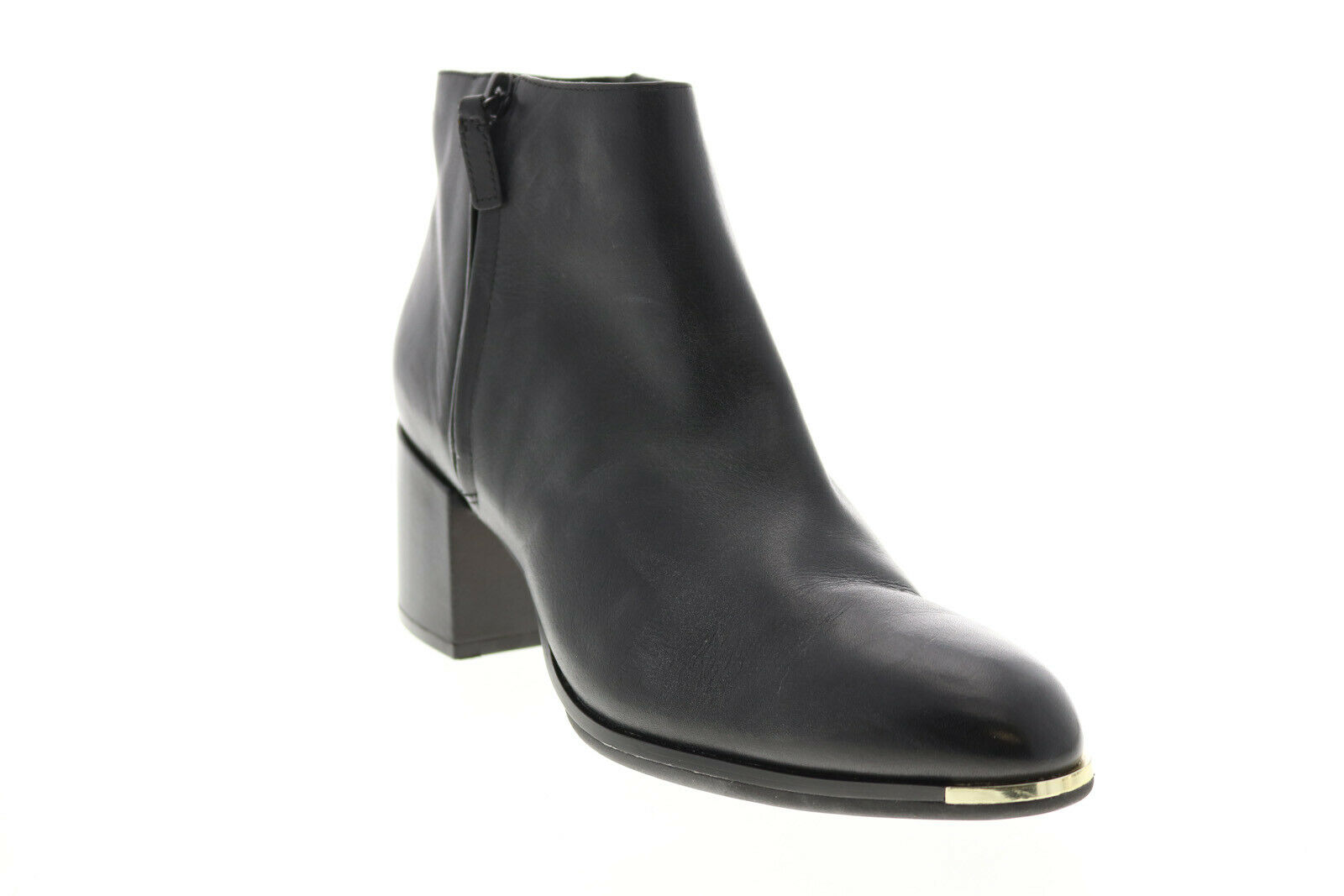 Cole Haan Grand Ambition W15824 Womens Black Leather Ankle & Booties Boots
