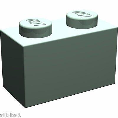 LEGO HARRY POTTER  60 Bausteine 3004 in sandgrün sandgreen 1x2 Noppen  NEUWARE