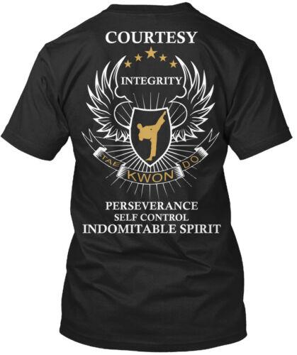 5 Tenets Of Taekwondo Courtesy Integrity Tae Kwon Do Standard Unisex T-shirt
