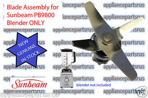 Sunbeam-Blender-Blade-Assembly-PB9800-Part-PB98002-NEW-GENUINE-IN-STOCK