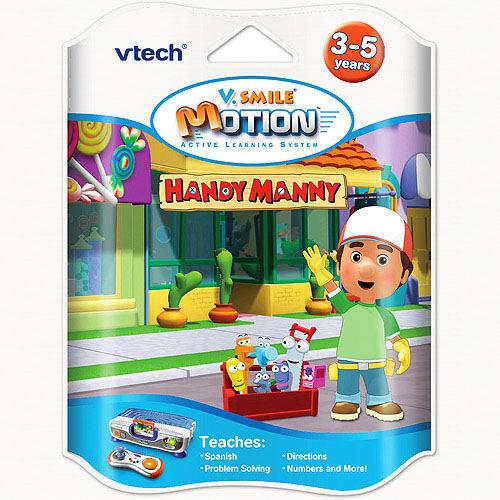 NEW VTECH VTECH VTECH VSMILE VMOTION TV LEARNING HANDY MANNY ba6cb8