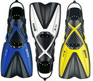 Mare-X-ONE-Short-Snorkelling-FINS-Flippers-Adjustable-Fit-Light-for-Travel