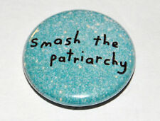 2x Breast Feminism Feminist Rude Novelty 25mm 1 Inch D Pin Button Badges
