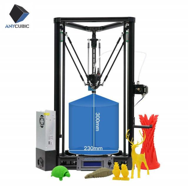 DE ANYCUBIC Delta 3D Drucker Kossel Plus Linear Auto-Nivellierung φ230x230x300mm