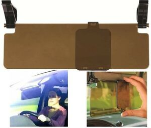 Car Sun Visor Extension Clip on Glare Reducer Tinted Perpsex with ... 6de04f93a14