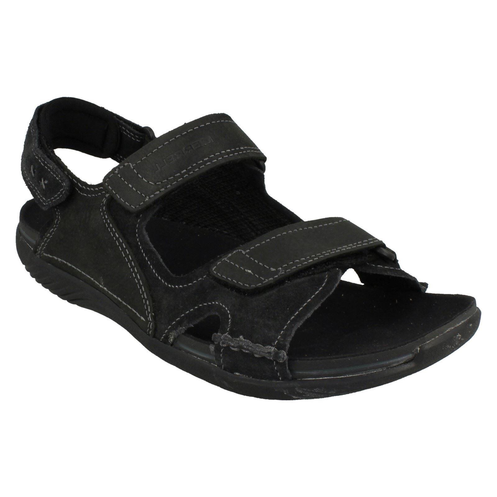 Herren MERRELL RIPTAPE SANDALS FASTENING CASUAL SUMMER Schuhe SANDALS RIPTAPE BASK DUO 0783b1
