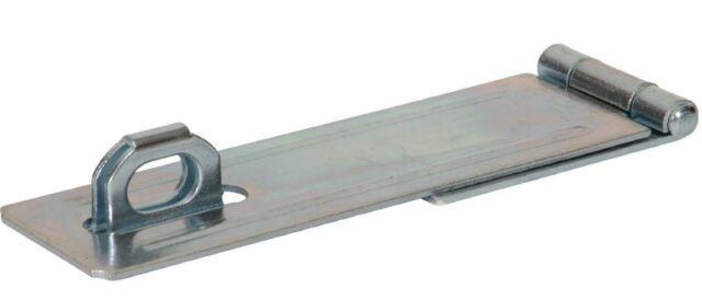 Hillman Hardware Essentials 851408 Fixed Staple Safety Hasp Zinc 4-1//2 The Hillman Group