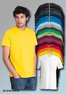 Kariban-Camiseta-de-manga-corta-para-hombre-con-cuello-en-19-FARBEN-T-S-hasta