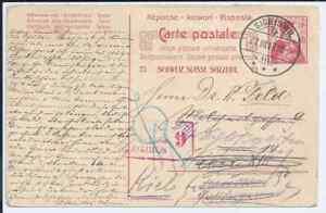 17791-ga 10 Heller Helvetia 1917 Sigriswil N. Kiel * Sst-afficher Le Titre D'origine