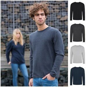 Eco-Regenerated-Cotton-Fine-Knit-Sweater-Jumper-Long-Sleeve-Top-Sustainable