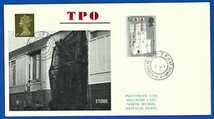 Railway Postal Cover Travelling Post Office 'North Western TPO NT Down'