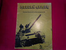 Modern Armor TSR miniature rules book VERY RARE lizard logo AFV's