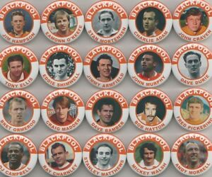 BLACKPOOL FC LEGENDS SET 1  MAGNETS  X 20   38mm  IN SIZE - Newtown, United Kingdom - BLACKPOOL FC LEGENDS SET 1  MAGNETS  X 20   38mm  IN SIZE - Newtown, United Kingdom